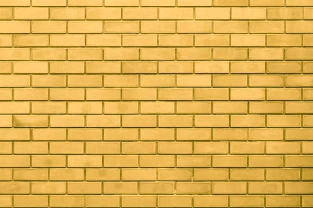 Gouden muur luxe goud rijke huis baksteen achtergrond