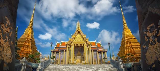 Gouden paviljoen in wat phra kaew