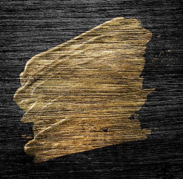Gouden penseelstreek textuur