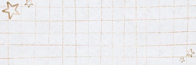 Gouden rasterachtergrond met sterren