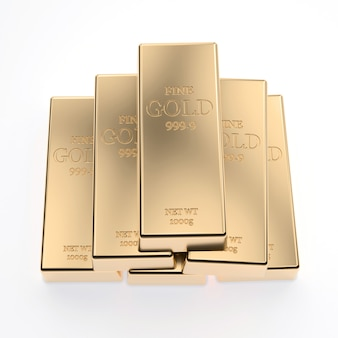 Gouden staaf