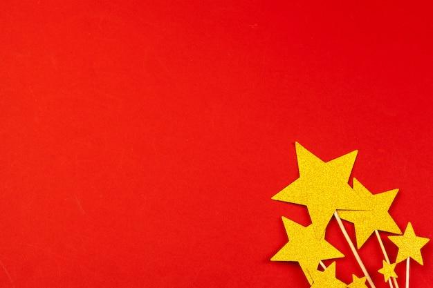 Gouden ster decoratie
