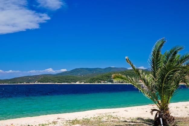 Gouden strand aan de griekenland