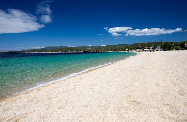 Gouden strand in griekenland