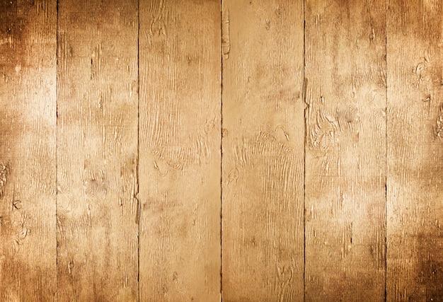 Gouden tafel. gouden houten geschilderde rustieke textuur