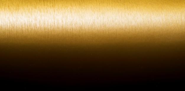 Gouden textuur achtergrondgradiënt horizontale lijn