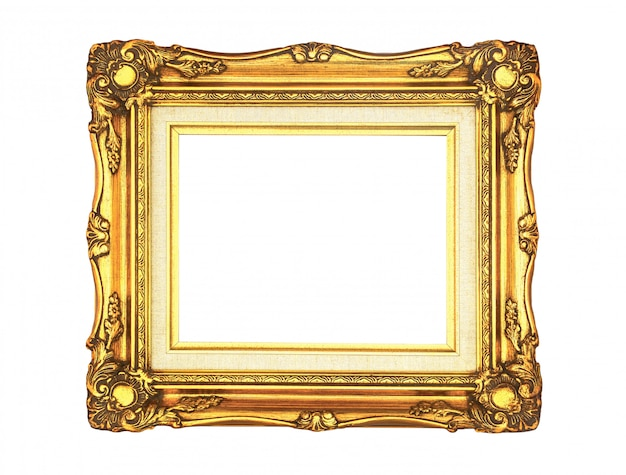 Gouden vintage frame