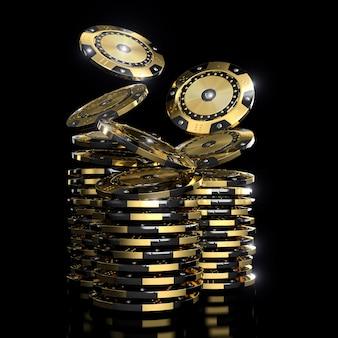 Gouden vip casinofiches
