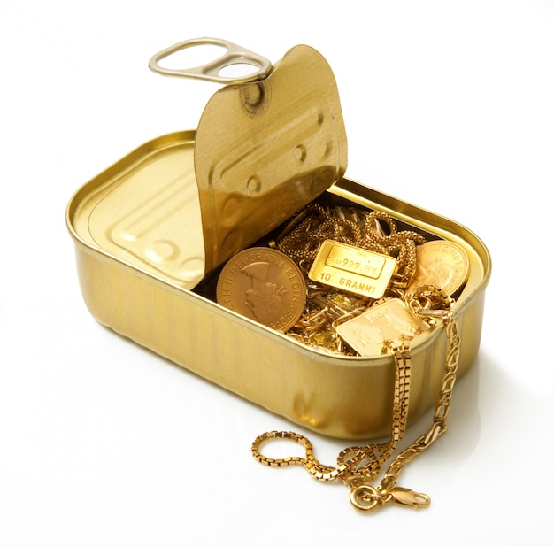 Gouden voorwerpen