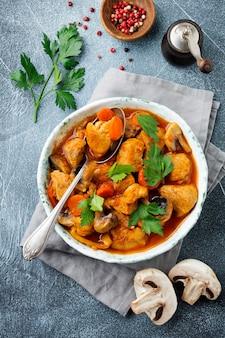 Goulash traditioneel hongaars gerecht