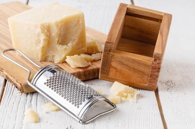 Gourmet biologische parmezaanse kaas