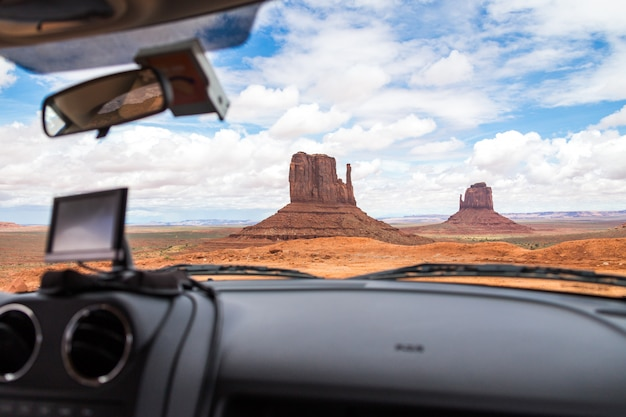 Gps in monument valley