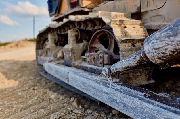Graafmachine werk bouw industrie geologie