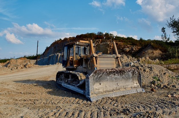 Graafmachine werk geologie bouwsector