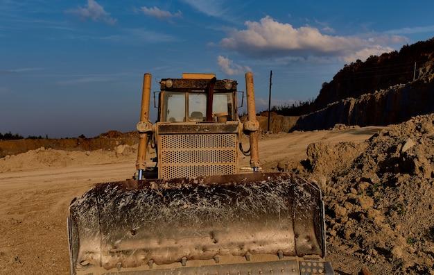 Graafmachine werk industrie bouw geologie