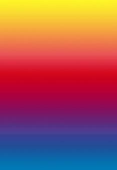 Gradiënt veelkleurige horizontale strepen voor abstracte achtergrond