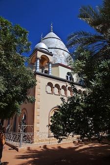 Graf van mohammed ahmad, madhi in omdurman dichtbij khartoum in soedan