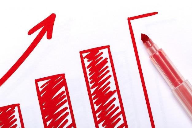 Grafische grafiek analyse documenten
