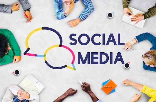 Grafische sociale media