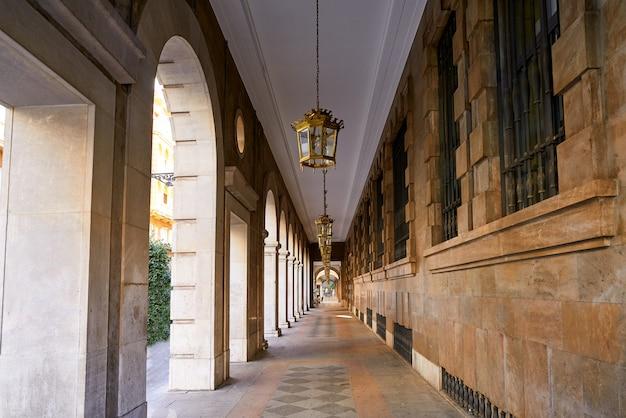 Granada arcades in angel ganivet straat