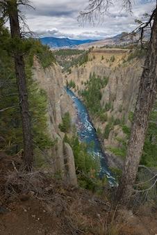 Grand canyon van yellowstone national park, landschapsfotografie