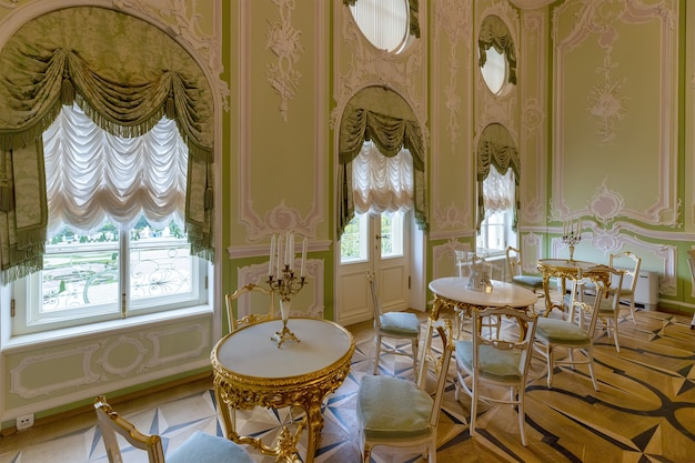 Grand menshikov palace 1710 in oranienbaum lomonosov sint-petersburg rusland