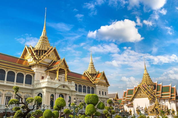 Grand palace en wat phra kaew in bangkok