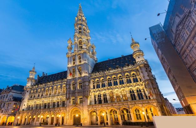 Grand place brussel, belgië