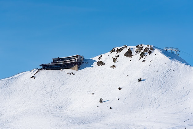 Grandvalira-skistation in andorra.