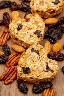 Granen met platte noten