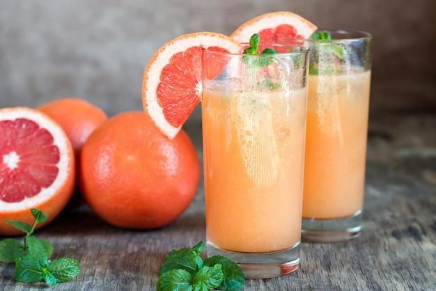Grapefruit en tequila paloma cocktail