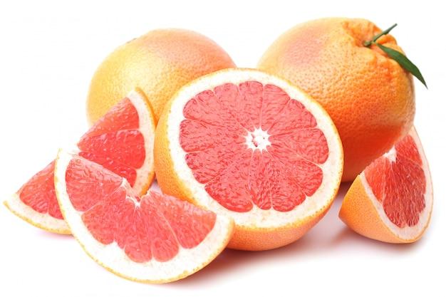 Grapefruit geïsoleerd
