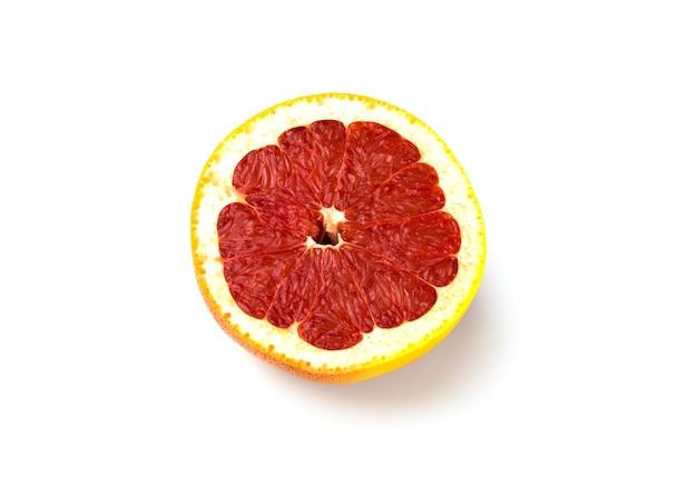 Grapefruit met schaduw