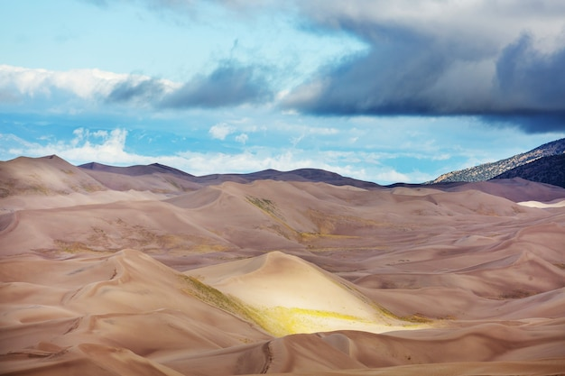 Great sand dunes national park, colorado, verenigde staten
