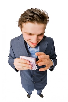 Greedy zakenman