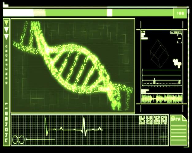 Green dna helix-technologie