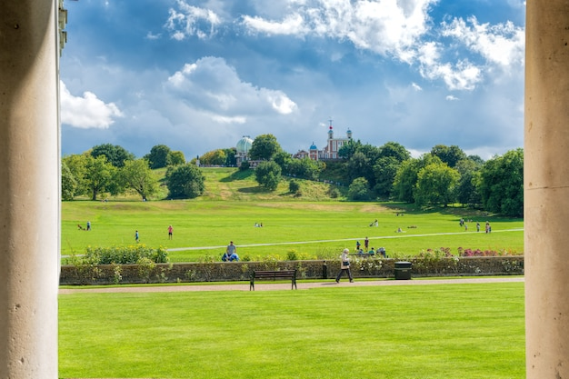 Greenwich, landschap