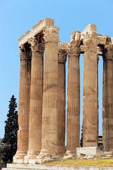 Griekse tempel in puin