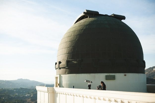 Griffith observatorium in los angeles