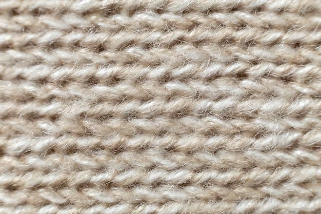 Grijs beige linnen canvas oppervlakte achtergrond. zakontwerp, ecologisch katoenen textiel, modieuze geweven flex jute.