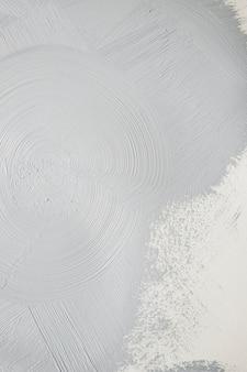 Grijs gekleurde verf in slagen