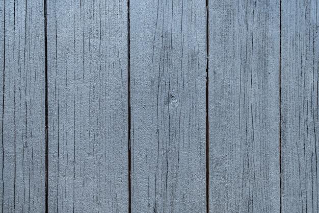 Grijs geschilderd houtstructuur van houten muur voor achtergrond en textuur.
