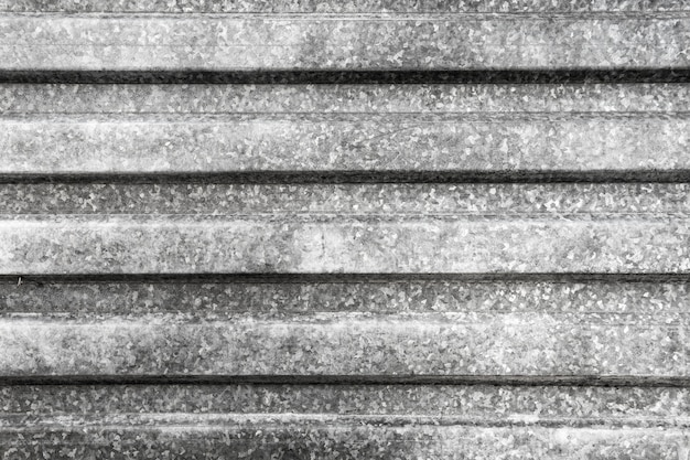 Grijs metalen oppervlak close-up