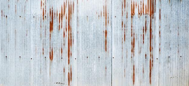 Grijs zink als achtergrond en textuur.