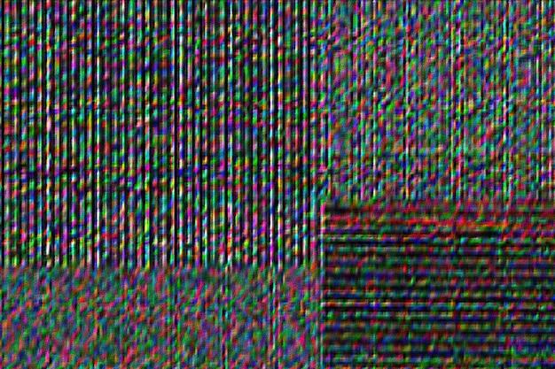Grijze achtergrond met glitch-effect patroon