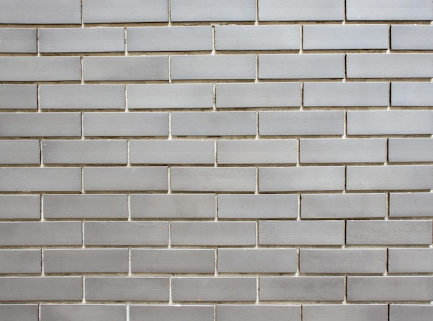 Grijze bakstenen muur
