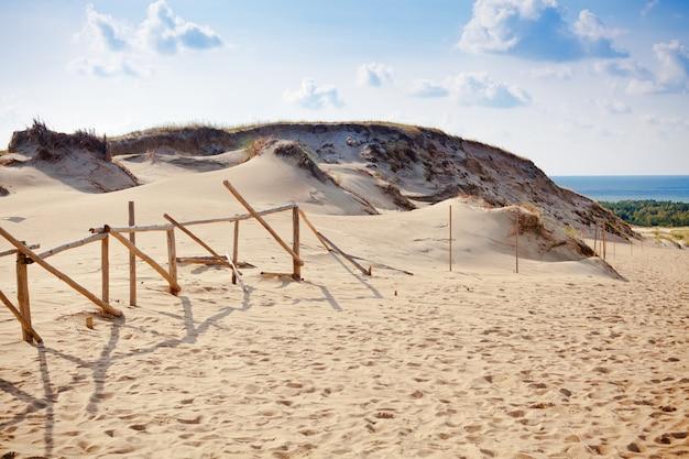 Grijze duinen in litouwen