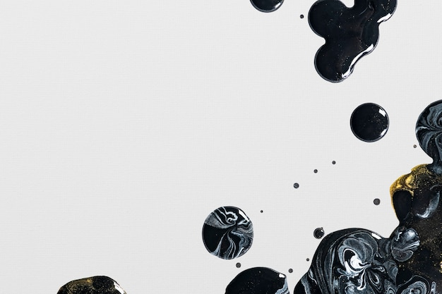 Grijze en zwarte vloeibare marmeren achtergrond