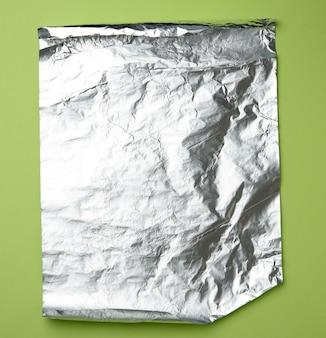 Grijze folie voor het bakken en verpakken van etenswaren