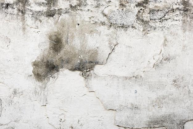 Grijze geschilderde bakstenen muurtextuur